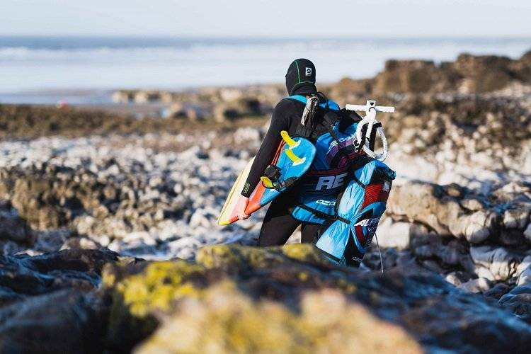 Preparing For Winter Kitesurfing