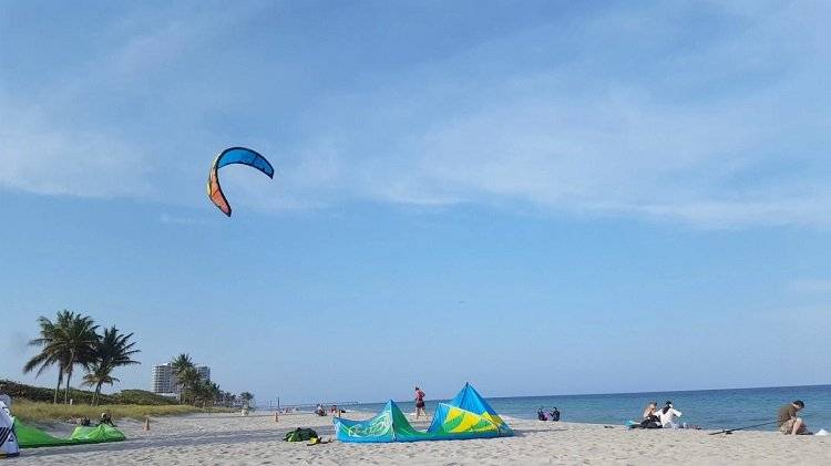 Kitesurfing In Florida