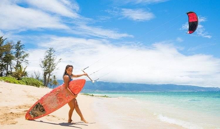 Kitesurfing In Hawaii