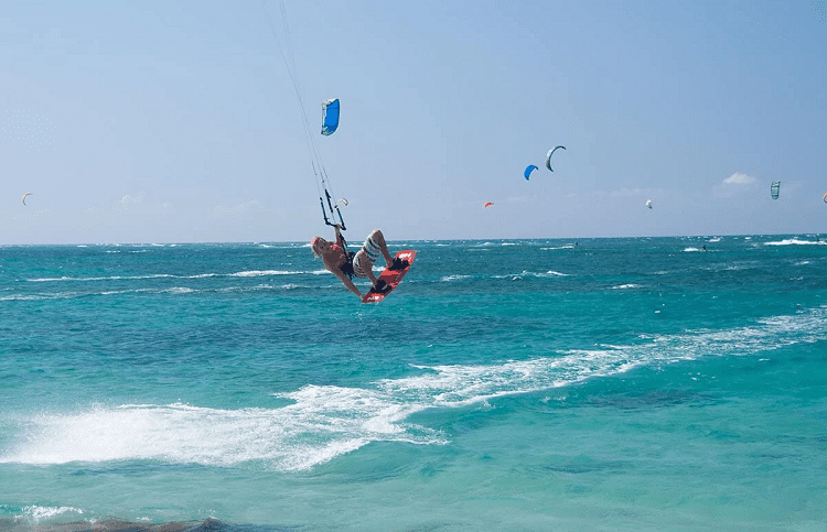 Dominican Republic Kitesurfing