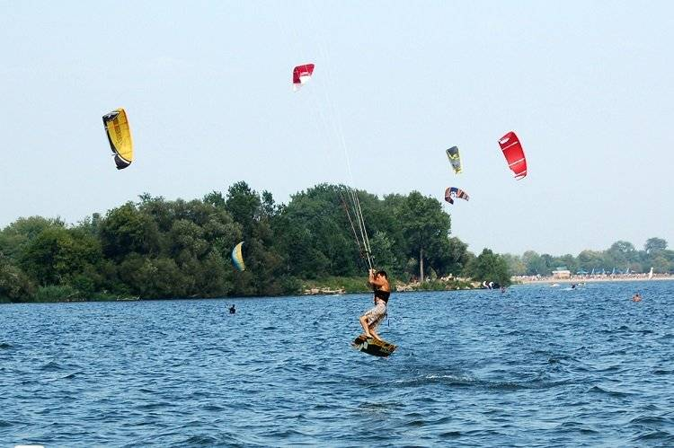 Kitesurfing in New Jersey
