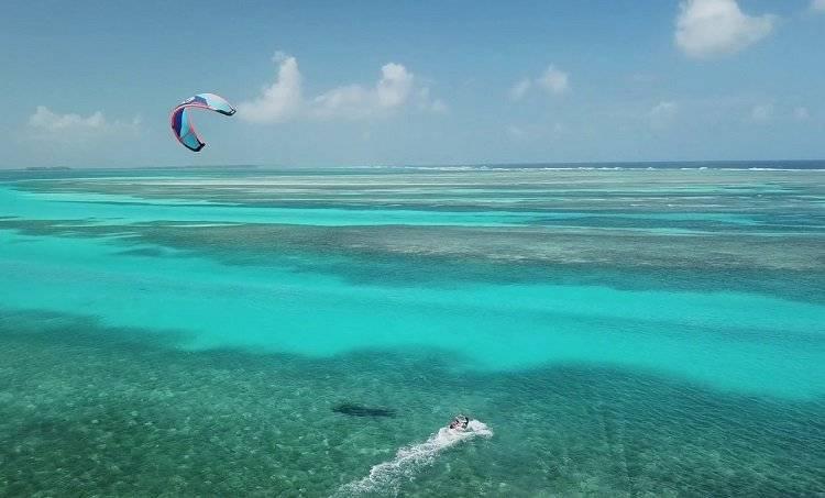 Kitesurfing In Panama