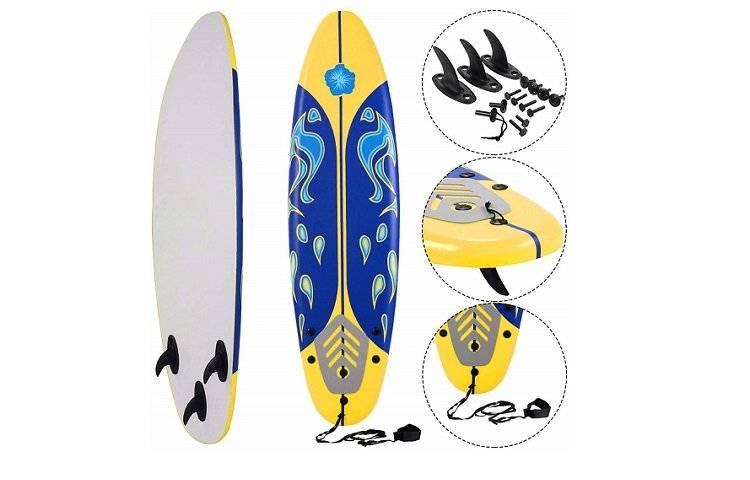 Giantex 6' Surfboard  Review