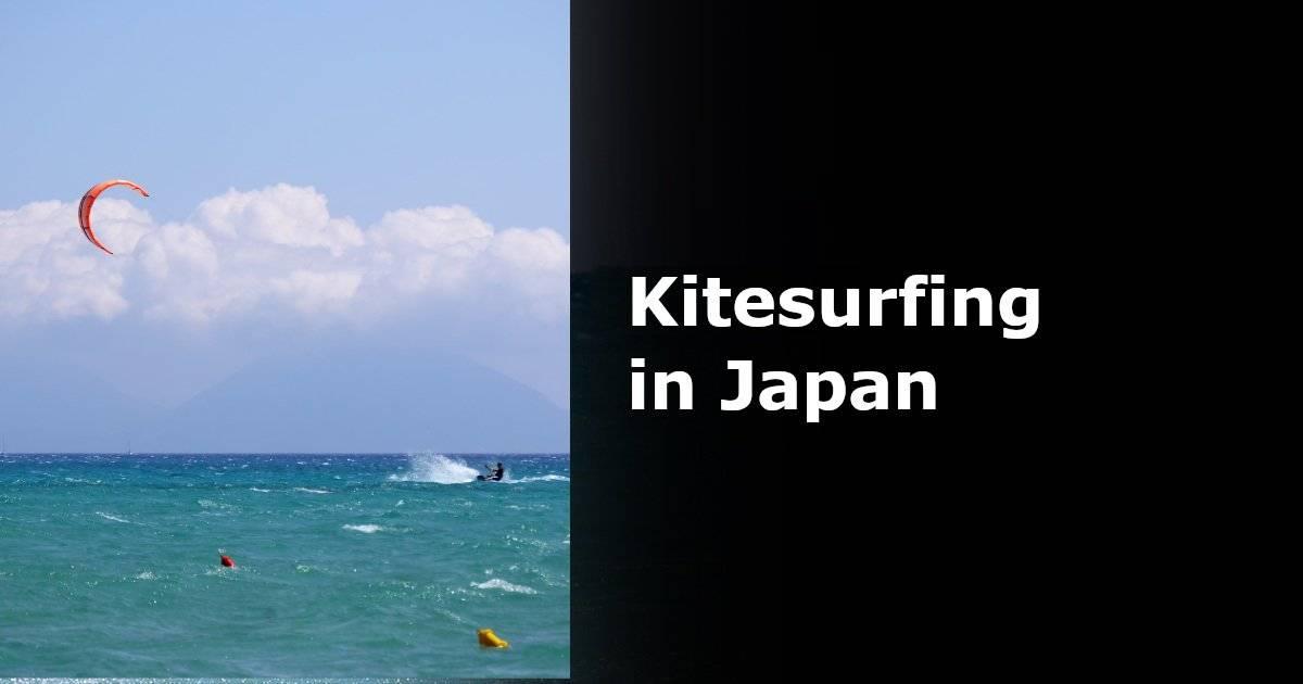 kitesurfing in japan