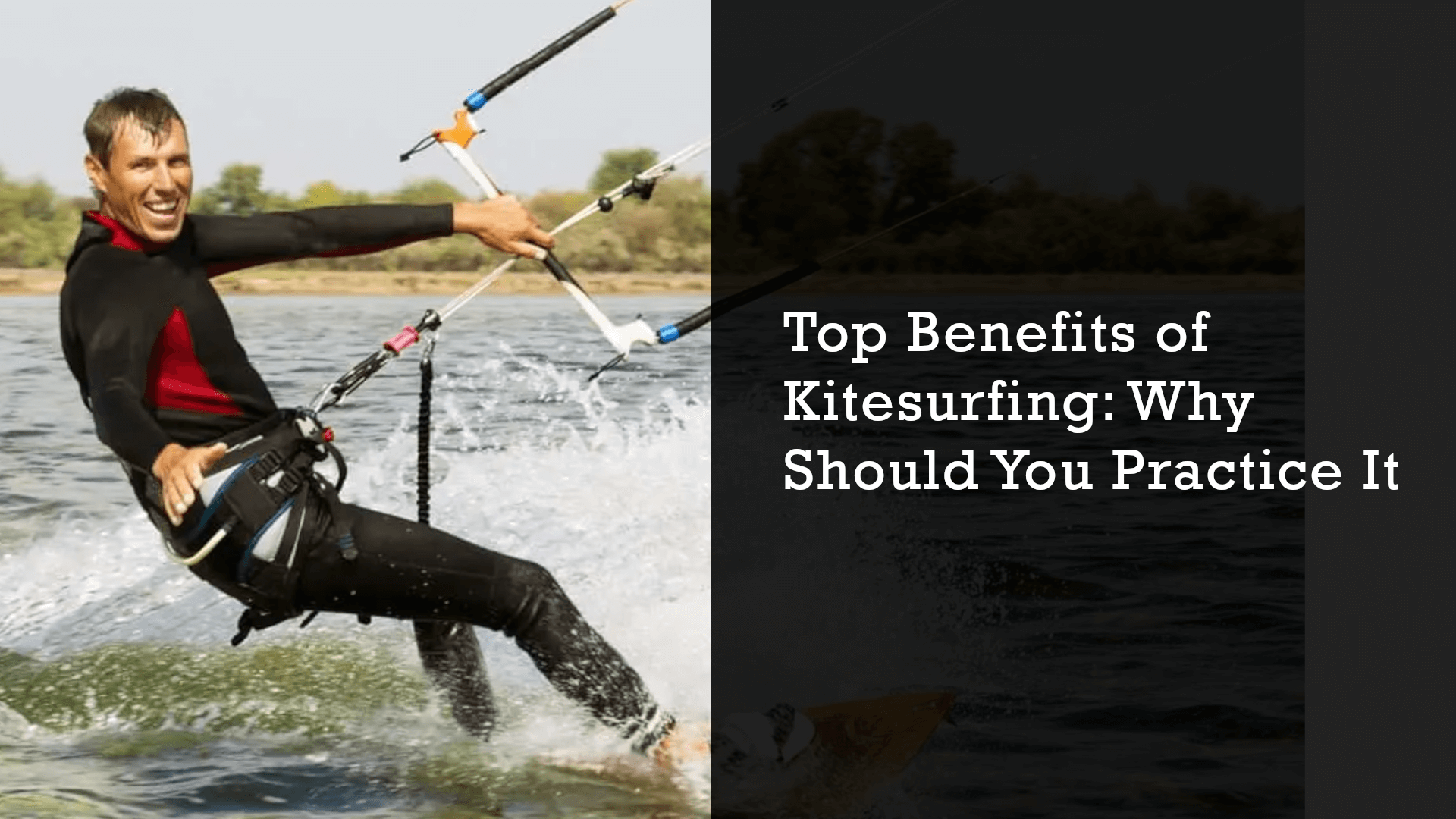 kitesurfing benefits