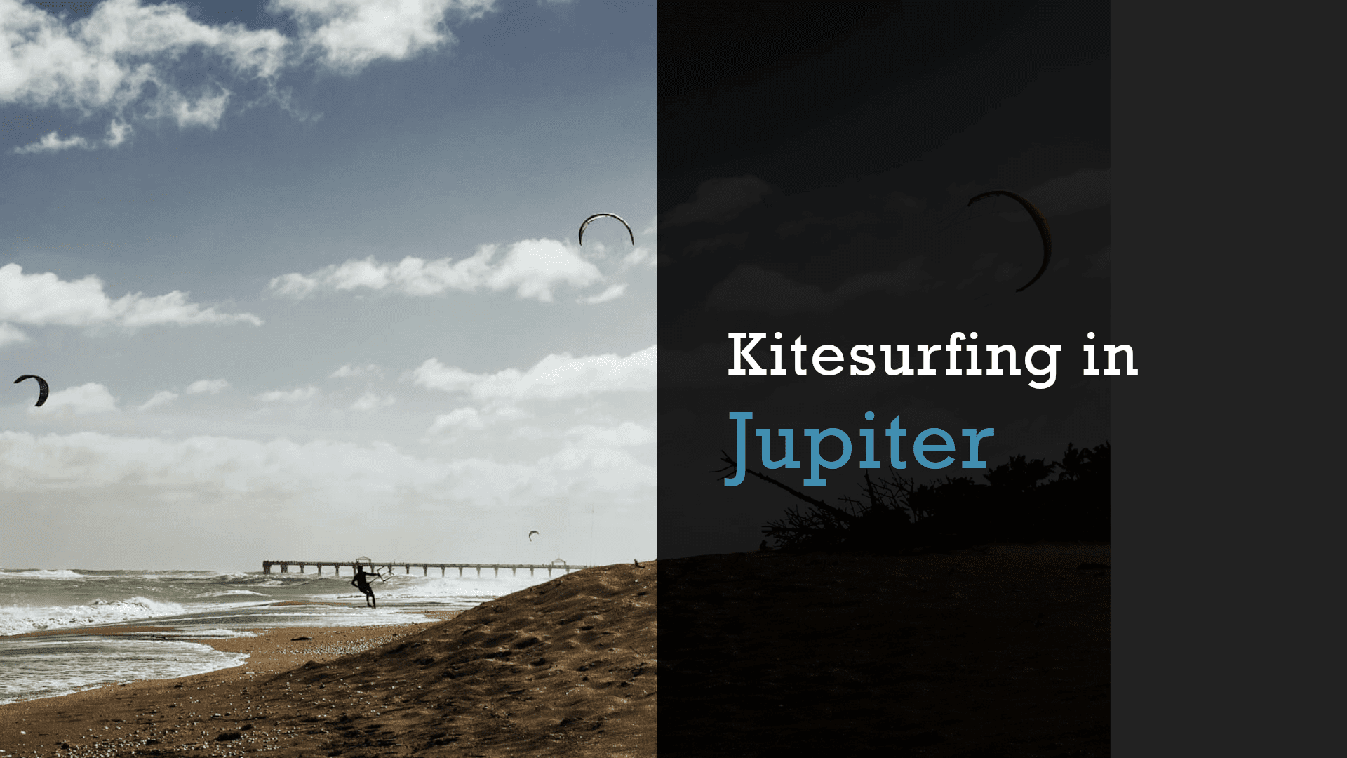 kitesurfing in jupiter