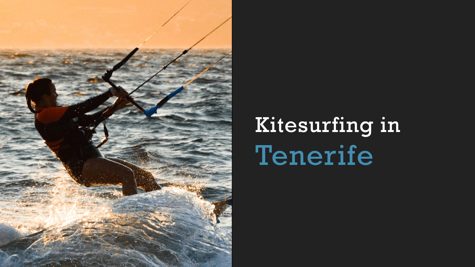 kitesurfing in tenerife