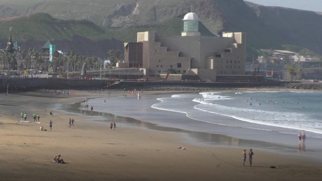 A Tenerife beach in daytime