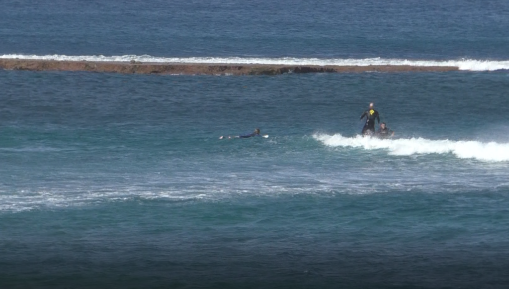 Surfing in Tenerife
